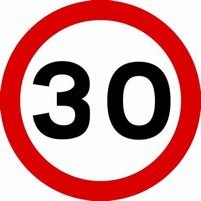 Signs Road Traffic Speed Limit Sign Svg