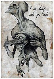 Horror Creepy Drawing Ideas Creative Art