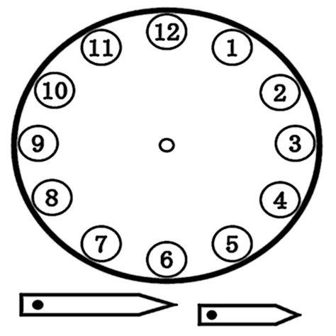 Uhr Zum Basteln Datei Ausschneiden Uhr 4 Jpg How To Be A