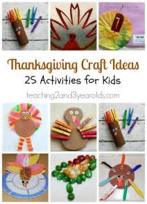 thanksgiving craft ideas for preschoolers