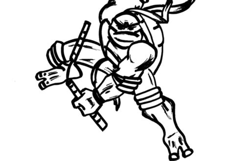 ninja turtles black  white clipart   cliparts