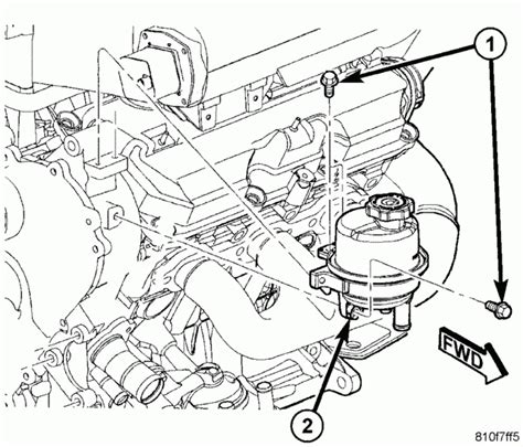 Chrysler Pacifica Engine Diagram Automotive Parts