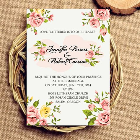 inexpensive wedding favor ideas inexpensive coral floral wedding invitations ewi342