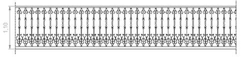 ringhiera in ferro dwg ringhiere in ferro battuto 1