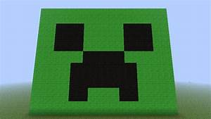 creeper face Minecraft Project