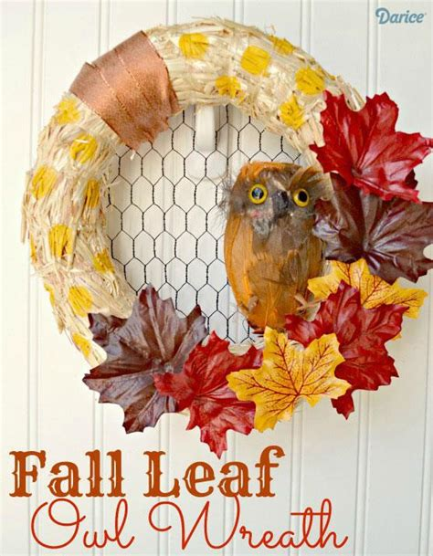 make your own fall wreath recycling on it s best chicken wire crafts just imagine daily dose of creativity