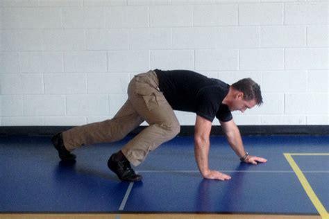 Bear Crawl Exercise Workout
