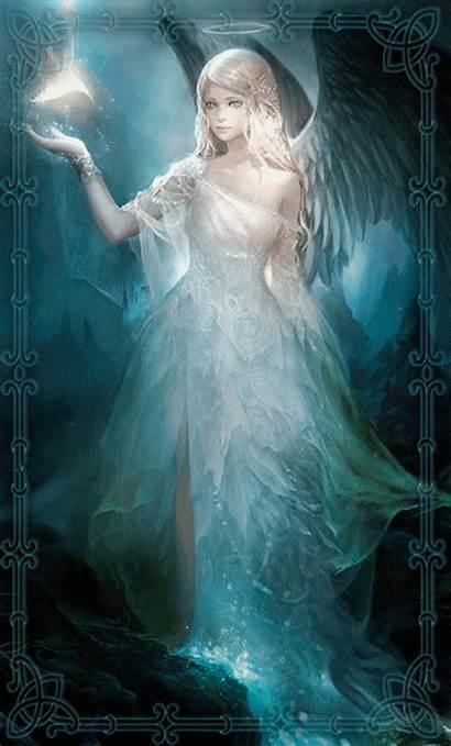 Wolf Guardian Angel Angels Gifs Angelic