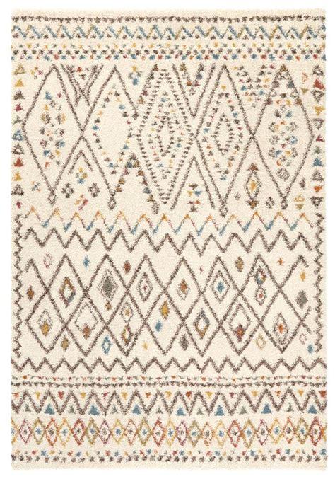inca vloerkleed hoogpolig vloerkleed inka tapeso