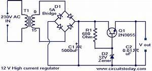 12 V High Current Regulator