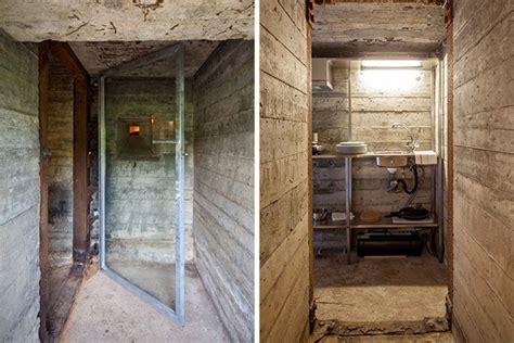concrete bunker vacation home   ild hiconsumption