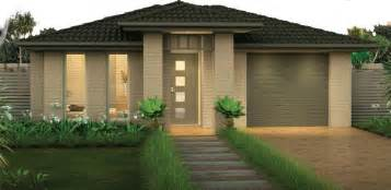 the home designers front of the house exteriors single storey home designs adenbrook homes australia
