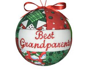 christmas ornament best grandparents handmade christmas