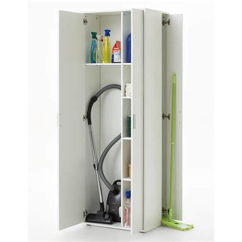 meuble a balai pour cuisine armoire à balais meuble de rangement multifonctionnel