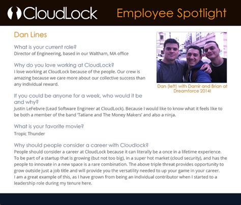 employee spotlight template how cloudlock built its employer brand 5 steps you can follow linkedin talent