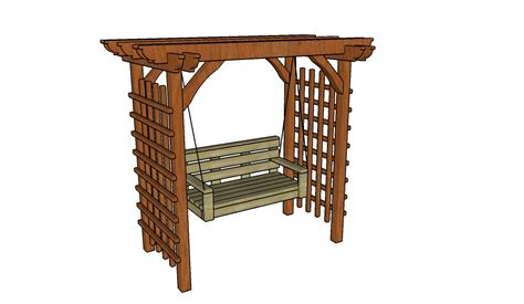 arbor swing plans howtospecialist how to build step