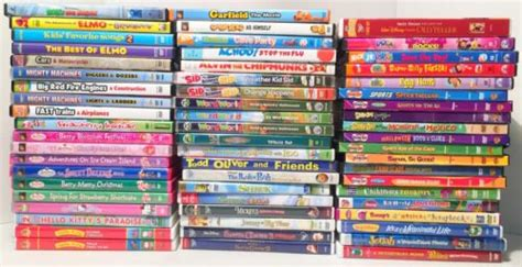 150 disney pixar dreamworks nickelodeon pbs animation family dvd lot what s it worth