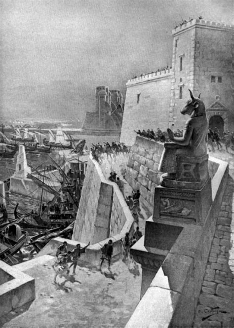 siege andre a naval during the siege of tyre by the
