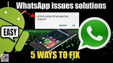 unfortunately whatsapp has stopped on samsung android