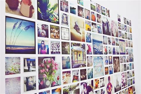 instagram collage template  photoshop indesign
