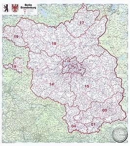 Plz Karte Berlin Kostenlos : plz karte brandenburg kleve landkarte ~ Orissabook.com Haus und Dekorationen