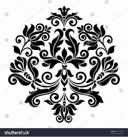 Vector Ornamental Floral Element Shutterstock Vectors