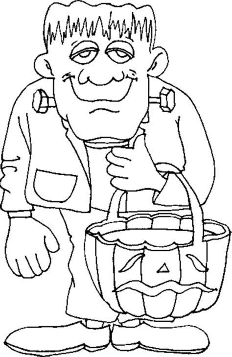 frankenstein coloring pages frankenstein coloring page print