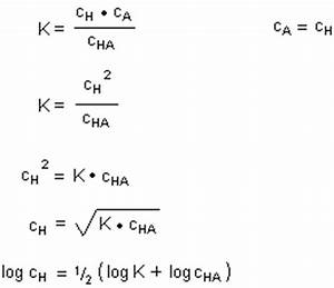 Pks Wert Berechnen : prof blumes medienangebot chemische gleichgewichte und massenwirkungsgesetz ~ Themetempest.com Abrechnung