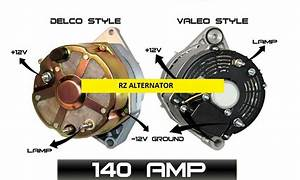 140amp High Output Alternator Fits 10si Style Volvo Penta