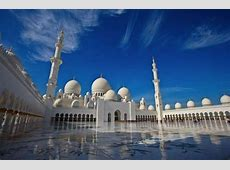 Sheikh Zayed Grand Mosque in Abu Dhabi HD wallpapers HD