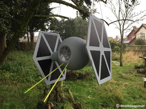 star wars inspired bird feeders star wars garden decor