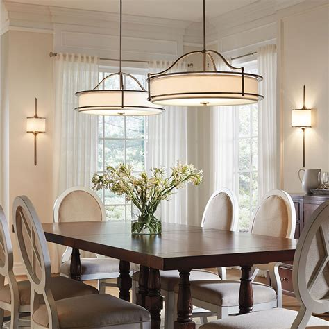dining room with no overhead light dining room lighting gallery from kichler
