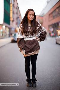 31 best Oversized sweater with leggings images on ...