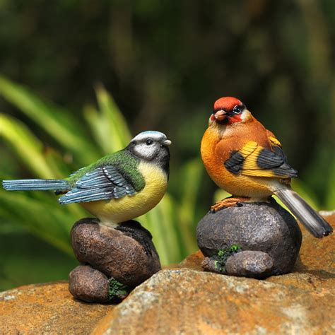 garden birds ornaments creative home accessories resin