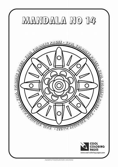 Mandala Coloring Cool Pages Mandalas Educational