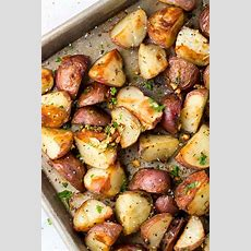 Garlic Roasted Potatoes With Rosemary  Jessica Gavin