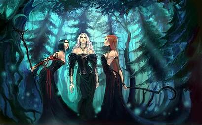 Witch Fantasy Desktop Wallpapers Backgrounds Witchy Witches