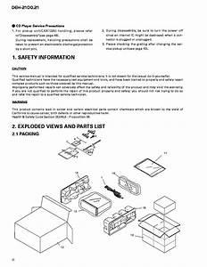 Pioneer Deh 2100 Wiring Diagram