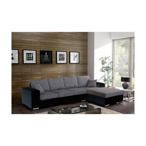 canapé d angle 5 places pas cher canapé d 39 angle 5 places harmonia tissu simili cuir design