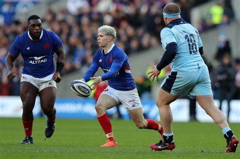 Scotland v France: Stand-in stand-off Matthieu Jalibert is ...