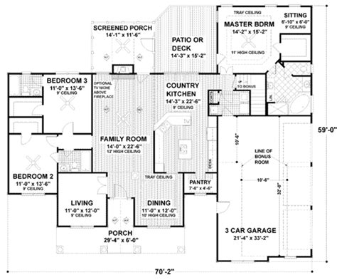 energy efficient homes floor plans traditional style house plan 3 beds 3 baths 2097 sq ft
