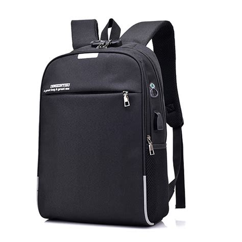 aliexpress buy usb charge anti theft backpack for