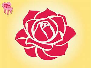 17 Simple Rose Vector Images - Simple Roses, Rose ...