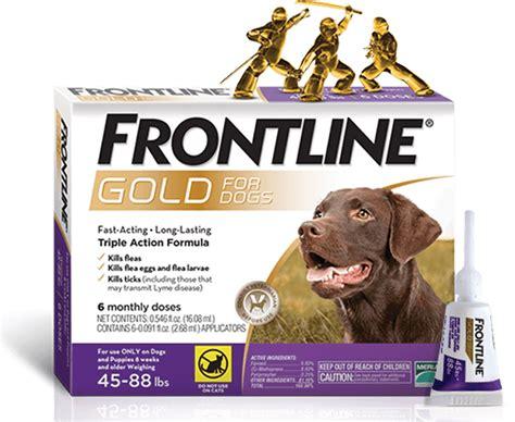 triple action topical flea tick treatment  dogs