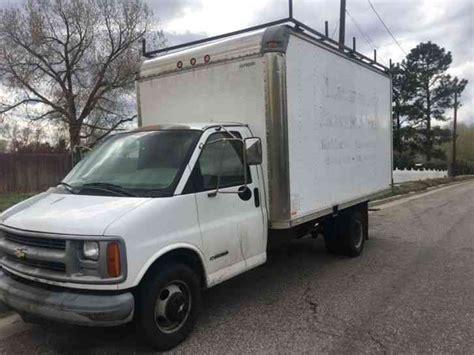 1999 Chev Truck by Chevrolet Express 3500 Box Truck 1999 Box Trucks