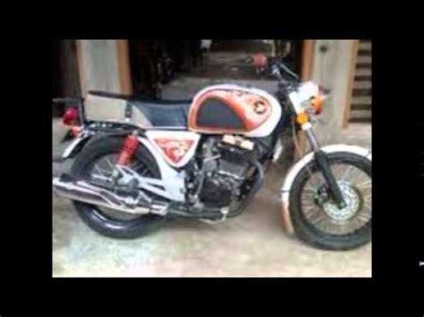 Modifikasi Gl Bodi Cb by Modifikasi Motor Honda Gl Pro Cb