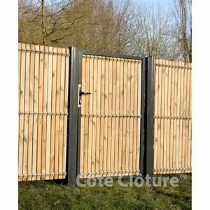 Portillon Bois Jardin : portillon andalou portillons ~ Preciouscoupons.com Idées de Décoration