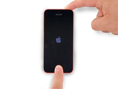ifixit iphone 5c how to restart an iphone 5c ifixit repair guide