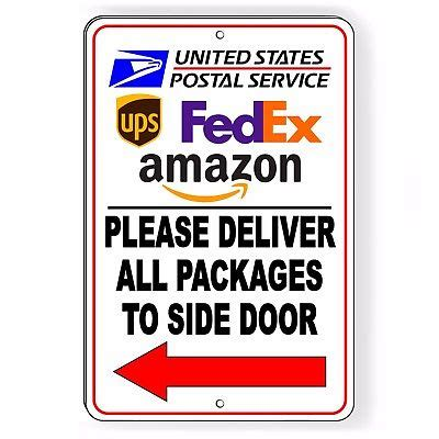does usps deliver to your door deliver all packages to back door do not leave packages in