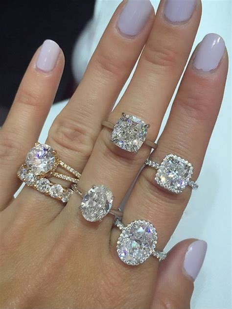 best wedding ring shape these images will help you decide which engagement ring shape you like best whowhatwear